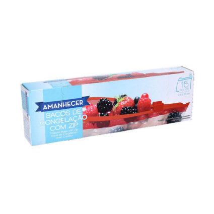 Sacos de Congelação com Zip Amanhecer 3L c/15un - Supermercado - Cuidar da casa