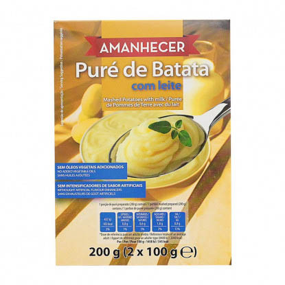 Puré de Batata com Leite Amanhecer - Supermercado - Mercearia
