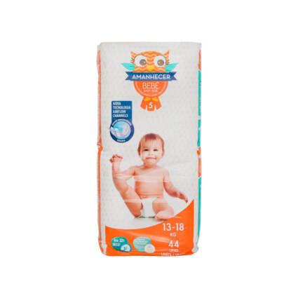 Fraldas Amanhecer Tamanho 5 (13-18kg) 44un - Supermercado - Bebés