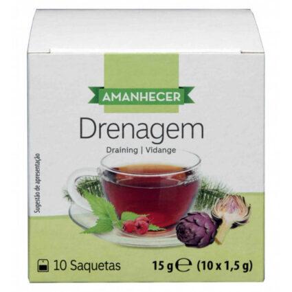 Chá Infusão Drenagem Amanhecer Saquetas (10x1