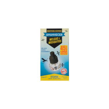 Insecticida Elétrico para Melgas e Mosquitos com Recarga Amanhecer 1un - Supermercado - Cuidar da casa
