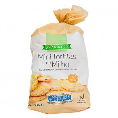 Mini Tortitas de Milho Amanhecer - Supermercado - Bolachas