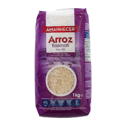 Arroz Basmati Amanhecer 1kg - Supermercado - Mercearia
