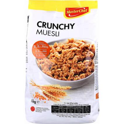 Cereais crunch muesli bolsa 1kg - Supermercado - Mercearia