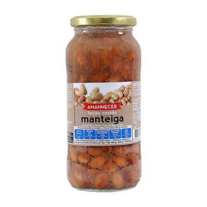 Feijão Manteiga Cozido Amanhecer 540gr - Supermercado - Mercearia