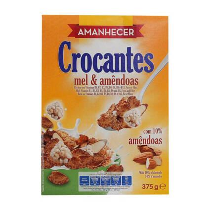Cereais Amanhecer Mel e Amêndoas - Supermercado - Mercearia