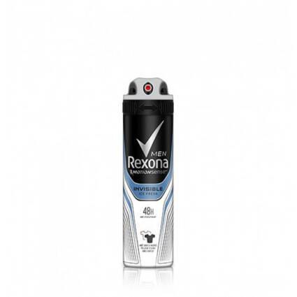 Desodorizante Spray Men Rexona Invisible Ice - Supermercado - Higiene e beleza