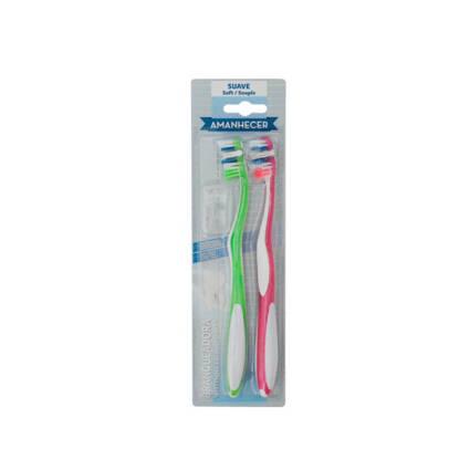 Escova Dentes Amanhecer White Soft - Supermercado - Higiene e beleza