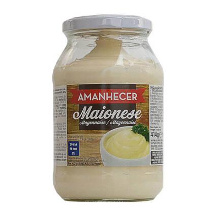 Maionese Amanhecer Frasco - Supermercado - Mercearia