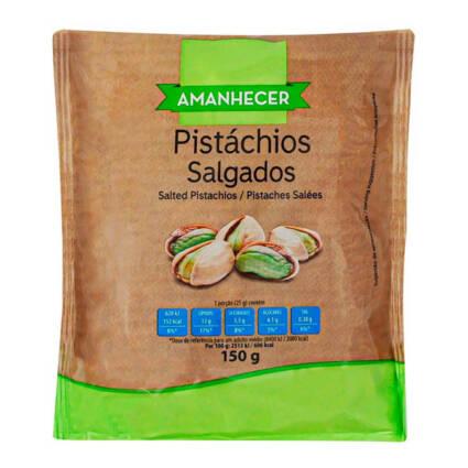 Pistachios Torrado com Sal Amanhecer - Supermercado - Mercearia