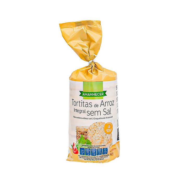 Tortitas de Arroz sem Sal - Supermercado - Alimentação Saudável