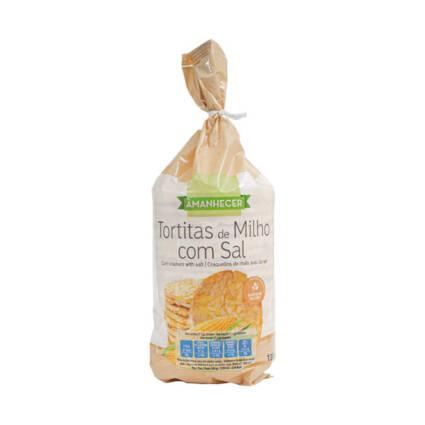 Tortitas de Milho com Sal - Supermercado - Alimentação Saudável