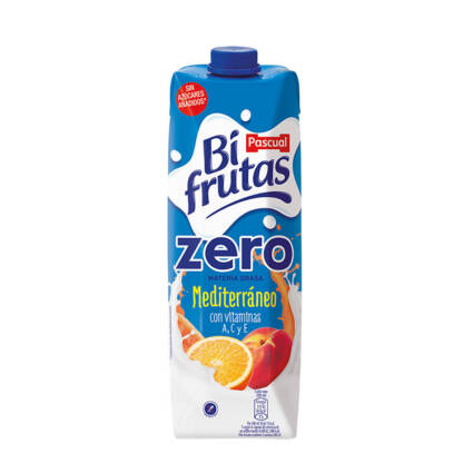 Bifrutas Mediterrâneo ZERO 1 L - Supermercado - Bebidas