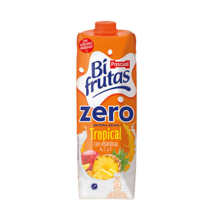 Bifrutas tropical ZERO 1 L - Supermercado - Bebidas