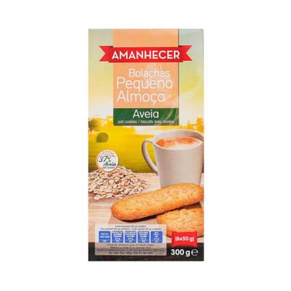 Bolachas Pequeno Almoço aveia 300gr (6x50gr) - Supermercado - Bolachas