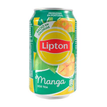 Ice tea de manga Lipton Lt 33cl - Supermercado - Bebidas