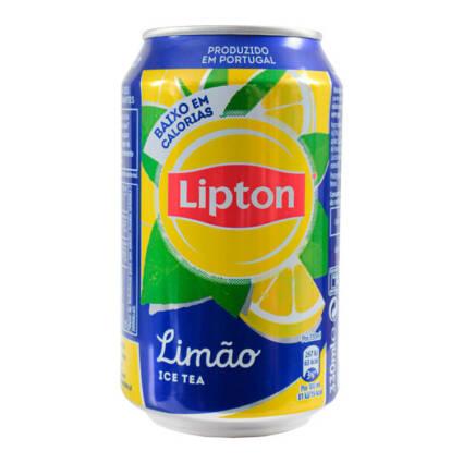 Ice tea de limao Lipton Lt 33cl - Supermercado - Bebidas