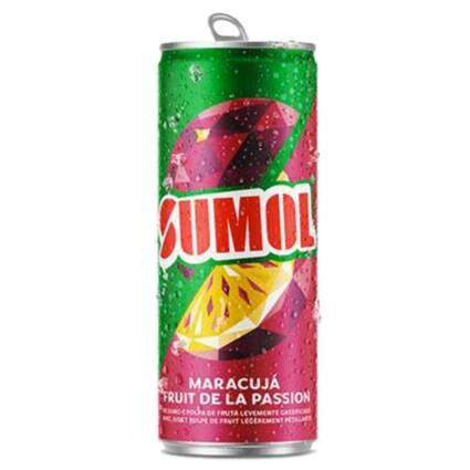 SUMOL Refrigerante Com Gás de maracuja Lata 330 ml - Supermercado - Bebidas