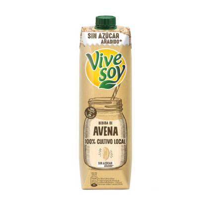 Vivesoy - Bebida de Aveia sem acucar 1L - Supermercado - Lacticinios