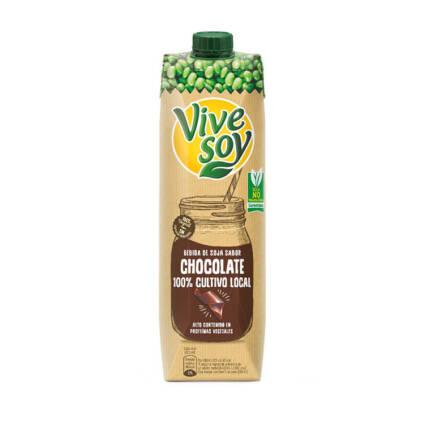 Vivesoy - Bebida de Chocolate e Soja 1L - Supermercado - Lacticinios