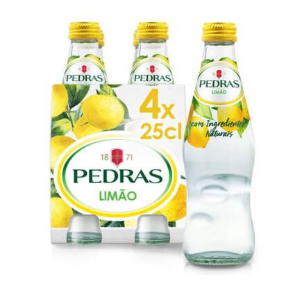 Agua Pedras Salgadas c/gas limao 25cl - Supermercado - bebidas