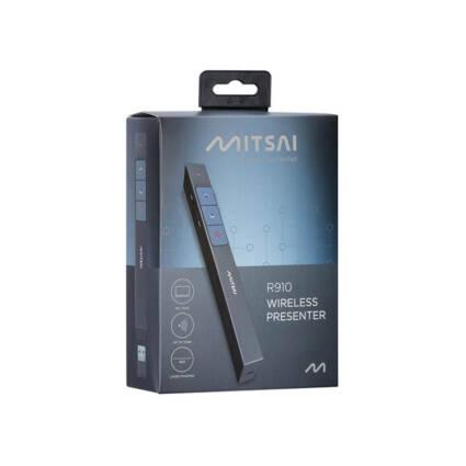 Apresentador MITSAI R910 Preto (Com Laser) - Escritório e Papelaria - Material de apresentação