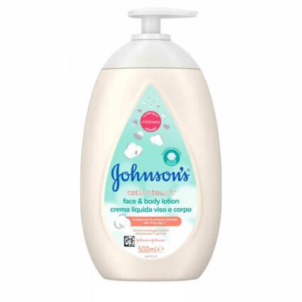 Loçao cotton touch johnson Baby 500ml - Supermercado - Bebés