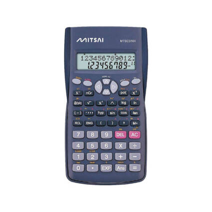Calculadora Científica MITSAI MTSC5164 Preto (12 dígitos) - Escritório e Papelaria - Calculadoras