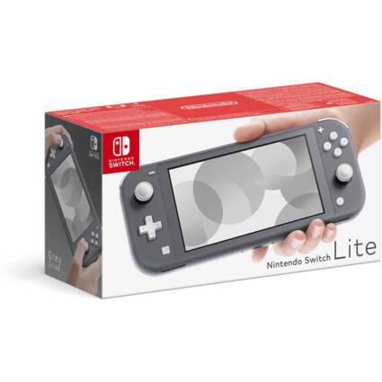 Consola Nintendo Switch Lite (32 GB - Cinzenta) - Gaming - Nintendo Switch
