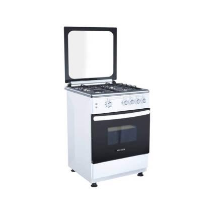 Fogão BECKEN BGS4506 WH B/P (64 L - Gás Butano-Propano - Branco) - Grandes Eletrodomésticos - Fogões