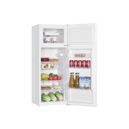 Frigorífico KUNFT KDD5195 (Estático - 143 cm - 206 L - Branco) - Grandes Eletrodomésticos - Frigoríficos
