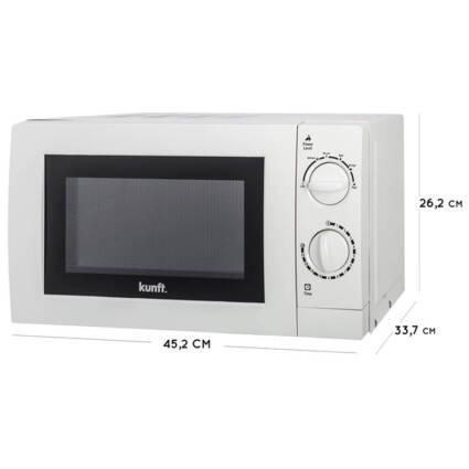 Micro-ondas KUNFT KMW-1698 (20 L - Sem Grill - Branco) - Pequenos Eletrodomésticos - Micro-ondas