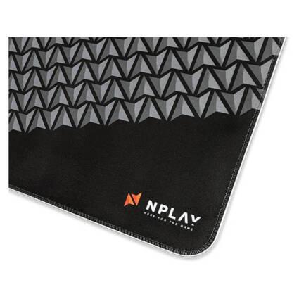 Tapete de Rato Gaming NPLAY Glide XL 10.0 (RGB - Preto) - Gaming - Acessórios Gaming PC