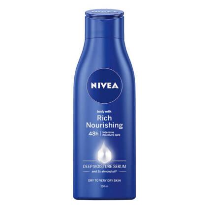 Body Lotion Nivea 250ml - Supermercado - Higiene e beleza